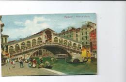 PONTE  DI  RIALTO  N. 2129-9   PRIMI  NOVECENTO - Venezia (Venice)