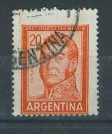 VEND TIMBRE D ´ ARGENTINE , N° 781 + VARIETE : MACULAGE !!!! (a) - Oblitérés