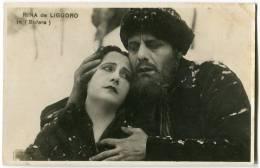 CARTOLINA RINA DE LIGUORO IN BUFERA ATTRICE CINEMA ACTRESS - Schauspieler