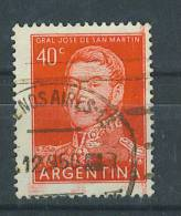 VEND TIMBRE D ´ ARGENTINE , N° 569 + VARIETE : MACULAGE !!!! - Argentina