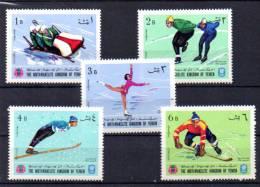 Yemen 1968, Jeux De Grenoble, Ski, Hockey, Patinage, MI  454 A 458 A** - Hiver 1968: Grenoble