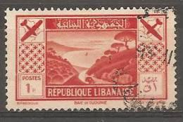 PA50 Oblitéré Du Grand Liban  Surtaxe Au Profit De La Société D´encouragement Du Tourisme Au Liban    Année 1936 - Unclassified