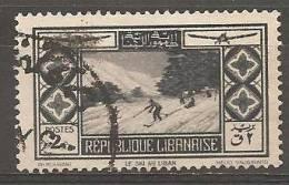 PA51 Oblitéré Du Grand Liban  Surtaxe Au Profit De La Société D´encouragement Du Tourisme Au Liban    Année 1936 - Unclassified