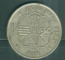 100 PESETAS -1966 - FRANCISCO FRANCO CAUDILLO DE ESPANA - Argent   - Silver - Ah7603 - [ 5] 1949-… : Kingdom