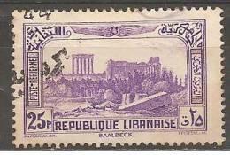 """PA72 Oblitéré Du Grand Liban  """" Sites """"   Année 1937/40 - Unclassified"""