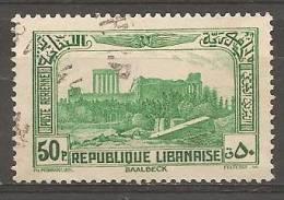 """PA73 Oblitéré Du Grand Liban  """" Sites """"   Année 1937/40 - Unclassified"""