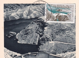 Algérie Barrage De Foum El Gherza 1959 Algéria Dam - Covers & Documents
