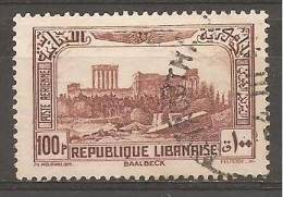 """PA74 Oblitéré Du Grand Liban  """" Sites """"   Année 1937/40 - Unclassified"""
