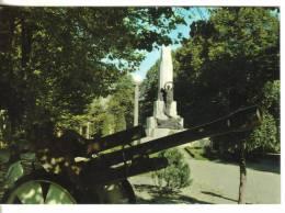 Cartolina Monumenti-monumento Ai Caduti-castelleone - Monuments