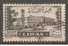 """PA95 Oblitéré Du Grand Liban  """" Tourisme Et Sports D' Hiver """" Année 1945 - Unclassified"""