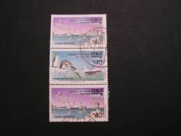 == Chile,  1986 Antarktis Birds Flora Fauna Lot - Chile