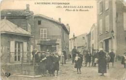 63 BRASSAC LES MINES  Place De La Bascule   2 Scans - Unclassified
