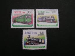 == Estland, Train ** MNH 1996 - Estland