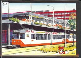 CARTE MODERNE - TPG - TRAMWAY - TRAIN - BAHN - TB - GE Geneva