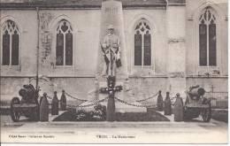 80- VRON-  Le MONUMENT (aux Morts)- Gros Plan  SUP - France