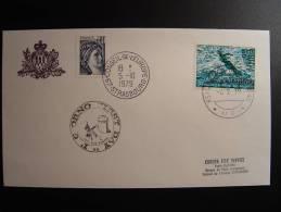 CONSEIL DE L´EUROPE SAN MARINO SAINT-MARIN FDC - Lettres & Documents