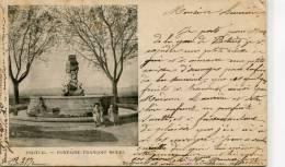 CPA 84  PERTUIS FONTAINE FRANCOIS MOREL 1902 - Pertuis