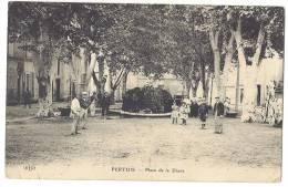VAUCLUSE 84.PERTUIS PLACE DE LA DIANE FONTAINE - Pertuis