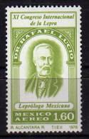 Docteur Rafael Lucio, Celebre Leprologue Mexicain.  1 T-p Neuf ** 1978 - Medicina