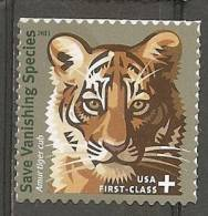 USA. Scott # B4 MNH. Semi Postal Stamp. Endangered Species Tiger 2011 - Etats-Unis