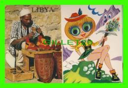 LYBYE - LES YEUX BOUGE - ÉCRITE - - Libye