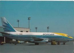 B71821 Nordair Boeing 737-242C Avion Airplane   2 Scans - 1946-....: Moderne