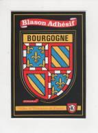 Blason Adhésif Bourgogne Villes Et Provinces De France Belle Carte - Fancy Cards
