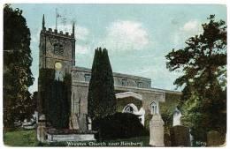 WROXTON CHURCH, NEAR BANBURY - England