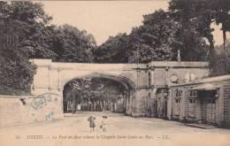 DREUX- Le Pont En Anse Reliant La Chapelle Saint-Louis Au Parc (animée 2 EnfantsTBE ) Dép28 - Dreux