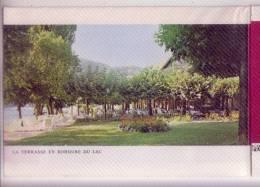 74 TALLOIRES Lac D'ANNECY AUBERGE Du PERE-BISE Dépliant Publicitaire Format Carte Postale - Talloires
