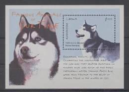 Liberia (2001) Yv. Bf. 365  / Dogs - Chiens - Perros - Hunden - Alaskan Dog - Perros