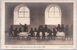 CPA - Illustrateur Coulon - XIV. Le Dernier Repas Des Girondins, 30 Octobre 1793. - History