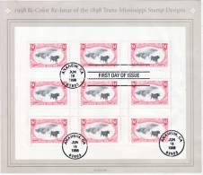 U.S.  3210  (o)  On  FDC  PIECE  TRANS-MISSISSIPPI - United States