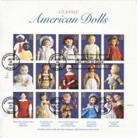 U.S.  3151  (o)  On  FDC  PIECE  AMERICAN  DOLLS - United States