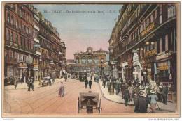 59 - LILLE - Rue Faidherbe (vers La Gare) Cachet Mathevet La Madeleine Représentant Rue De Lille 21 - Lille
