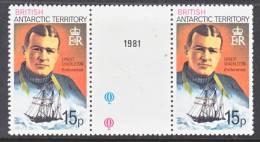 BAT  56b X 2   Perf 12  **  GUTTER PAIR - British Antarctic Territory  (BAT)