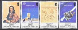 BAT  129-32   **  SPACE  HALLEYS  COMET - British Antarctic Territory  (BAT)