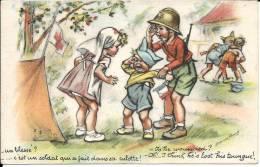 Illustrateur: Germaine BOURET : 2 Cartes - Sonstige