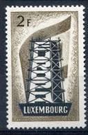 Luxembourg            514  **    Europa - Europa-CEPT