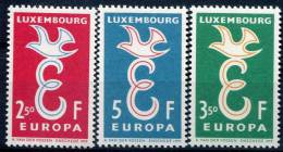Luxembourg            548/550  **    Europa - 1958