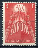 Luxembourg           532  **    Europa - 1957