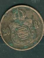 BRESIL - 20 REIS 1869. - Ah7305 - Brazil