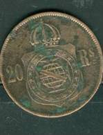BRESIL - 20 REIS 1869. - Ah7305 - Brésil