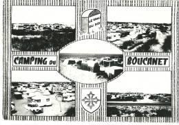 CPSM 30 GRAU Du ROI CAMPING Du BOUCANET Jolie MULTIVUE - Le Grau-du-Roi