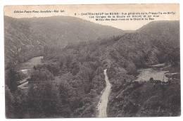 CPA 63 Puy De Dôme Chateauneuf Les Bains Vue Générale De La Presqu´ile De St Cyr édit Faure Nony N°3 Non écrite - Autres Communes