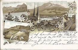5006 - Gruss Aus Luzern - LU Lucerne