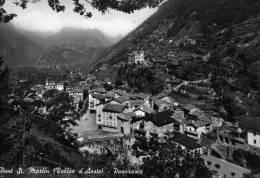 "Bellissima  Cartolina  Anni 50  ""  Pont St.Martin ( Vallèe D'Aoste) - Panorama "" - Aosta"