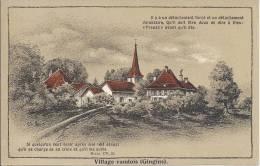 5016 - Village Vaudois Gingins - VD Vaud