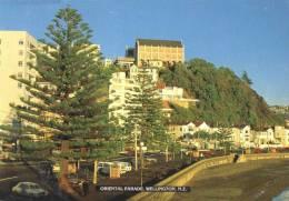 Oriental Parade, Wellington, New Zealand - Pictorial Publications, Posted To England 1993 - Nuova Zelanda