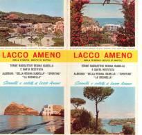 LACCO AMENO ,isola D' Ischia  , Terme Radioattive  , Pieghevole Pubblicitario - Tourisme, Voyages